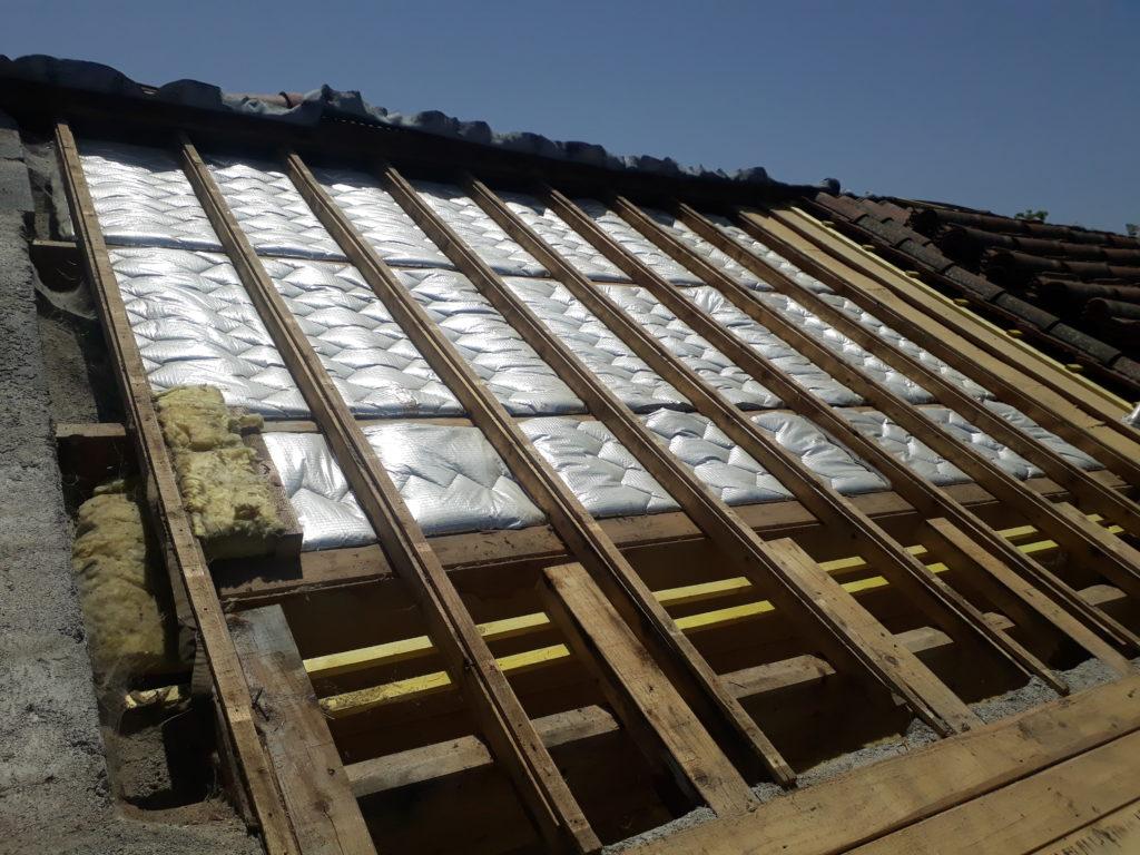 Isolation de toiture par l'extérieur | BSA CONSTRUCTIONS BOIS